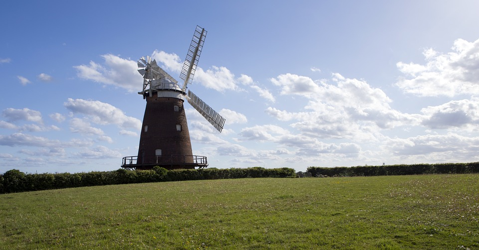 a windmill in thaxted essex